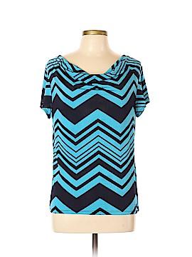 Carol Rose Short Sleeve Top Size L