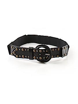Chocolat Blu Leather Belt Size M