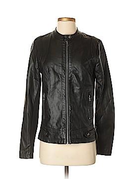 Sebby Faux Leather Jacket Size S