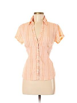 Aventura Short Sleeve Button-Down Shirt Size M