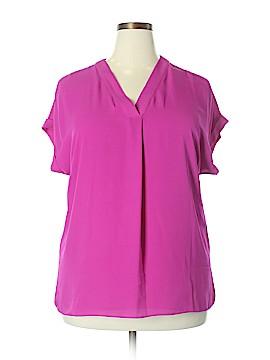 Lauren by Ralph Lauren Short Sleeve Blouse Size 1X (Plus)
