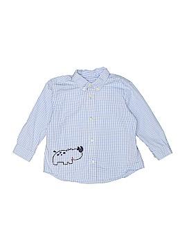 Talbots Kids Long Sleeve Button-Down Shirt Size 24 mo