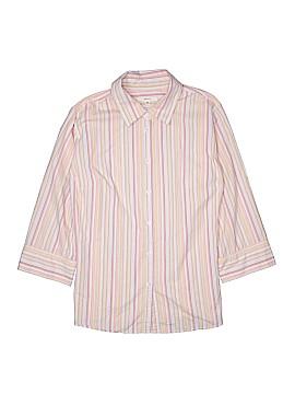 Merona 3/4 Sleeve Button-Down Shirt Size 24 (Plus)