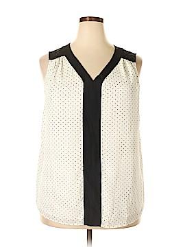 Roz & Ali Sleeveless Blouse Size 2X (Plus)