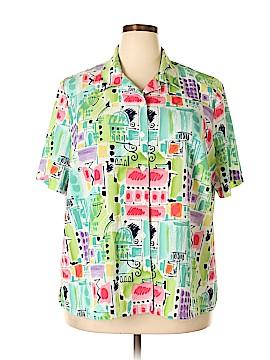 Allison Daley Short Sleeve Blouse Size 20 (Plus)