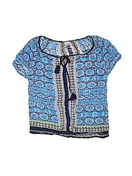 BILA Short Sleeve Blouse Size XL