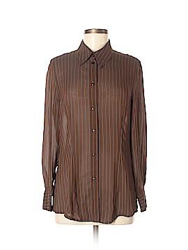 Giorgio Armani Long Sleeve Blouse Size 8