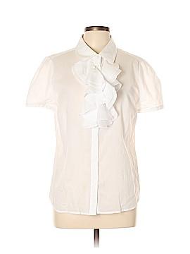 Boden Short Sleeve Button-Down Shirt Size 12