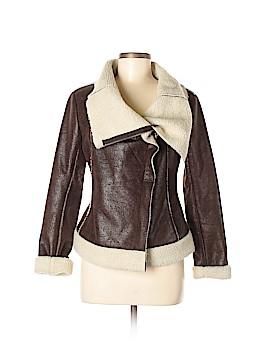 W118 by Walter Baker Faux Leather Jacket Size S