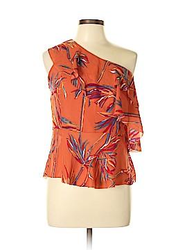 Amaryllis Short Sleeve Blouse Size L