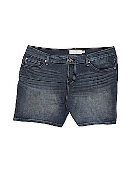 Torrid Denim Shorts Size 18 (Plus)