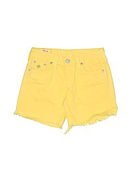 True Religion Denim Shorts 25 Waist
