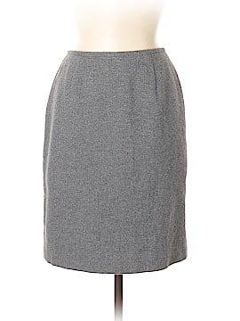 Lafayette 148 New York Wool Skirt Size 6 (Petite)