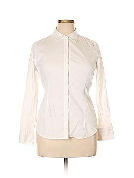 Boston Proper Long Sleeve Button-Down Shirt Size 12