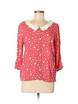 Disney 3/4 Sleeve Blouse Size M