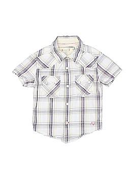 Guess Short Sleeve Button-Down Shirt Size 3T