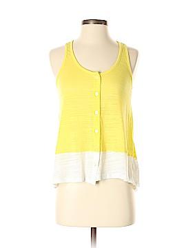 Splendid Sleeveless Button-Down Shirt Size S