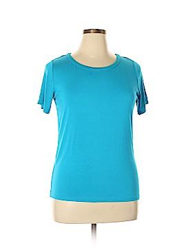 Jones New York Collection Short Sleeve T-Shirt Size XL