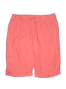 Garnet Hill Khaki Shorts Size 18 (Plus)