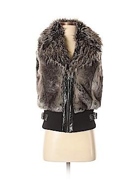 Guess Faux Fur Vest Size M