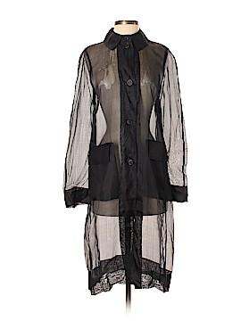 BCBGMAXAZRIA Long Sleeve Silk Top Size 4
