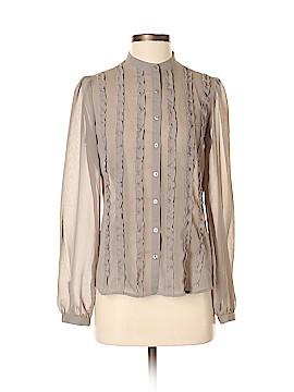 Ann Taylor LOFT Long Sleeve Blouse Size 4