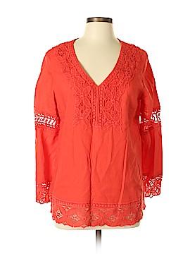 Cynthia Rowley TJX Long Sleeve Blouse Size L