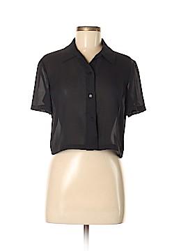 Donna Ricco Short Sleeve Blouse Size M