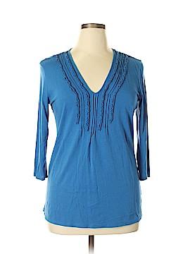 Gap 3/4 Sleeve Top Size XL