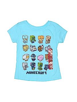 Mojang Short Sleeve T-Shirt Size 4
