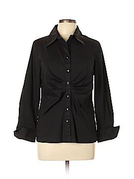 Soft Surroundings Long Sleeve Blouse Size XL (Petite)