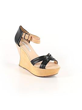 Diane von Furstenberg Wedges Size 10