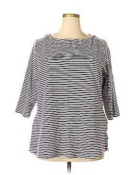 Jessica London 3/4 Sleeve T-Shirt Size 22/24 (Plus)