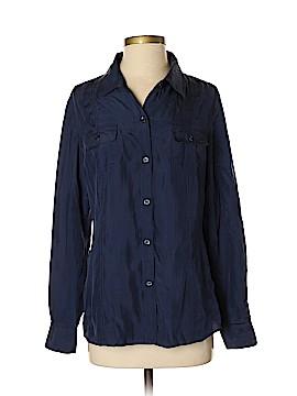 Tommy Bahama 3/4 Sleeve Silk Top Size S