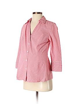 Motherhood 3/4 Sleeve Button-Down Shirt Size S (Maternity)