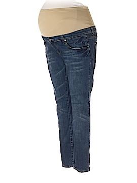 Tummy Trimmerz Jeans Size 12 (Maternity)