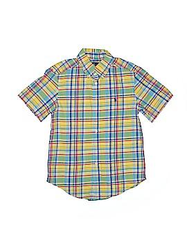 Ralph by Ralph Lauren Short Sleeve Button-Down Shirt Size 8