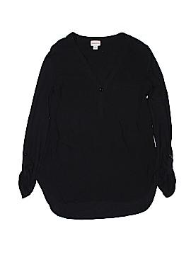Merona Long Sleeve Henley Size XS