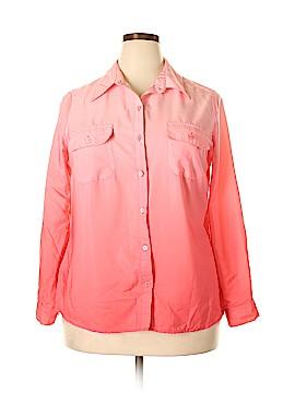 Kim Rogers Long Sleeve Blouse Size 1X (Plus)