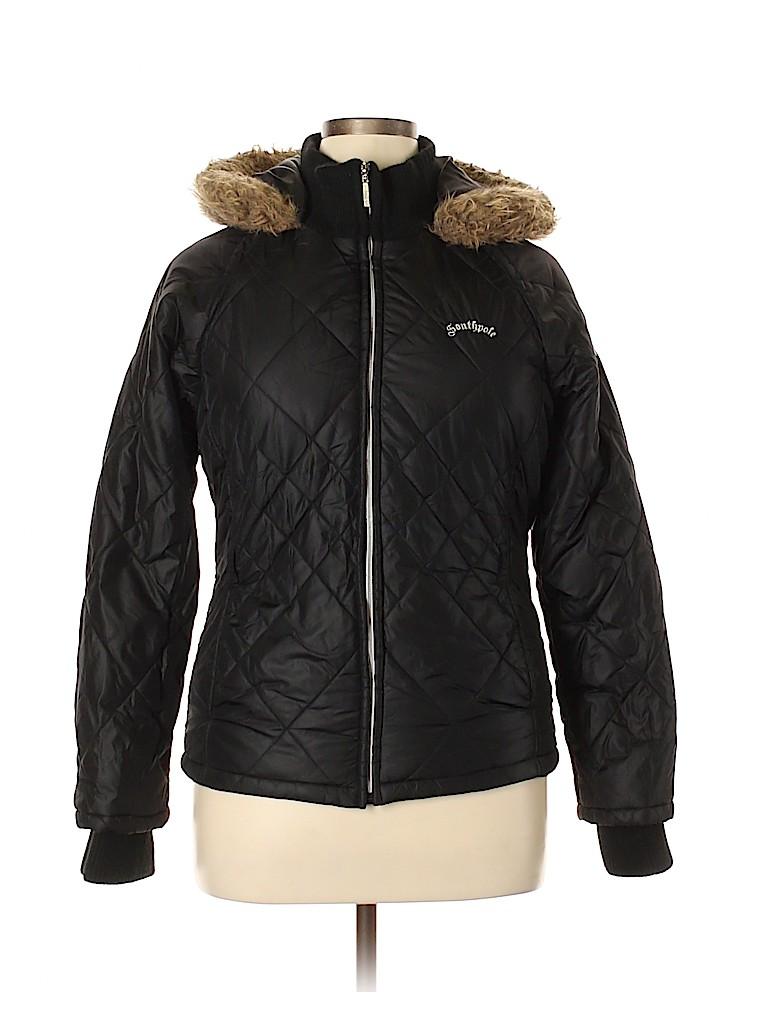 Southpole 100% Nylon Solid Black Coat Size XL - 59% off  4bce6cc5a