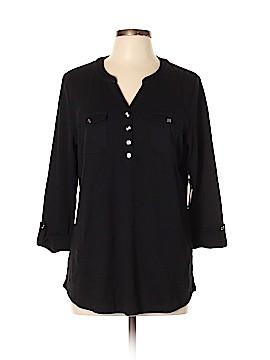 Karen Scott 3/4 Sleeve Blouse Size 0X (Plus)