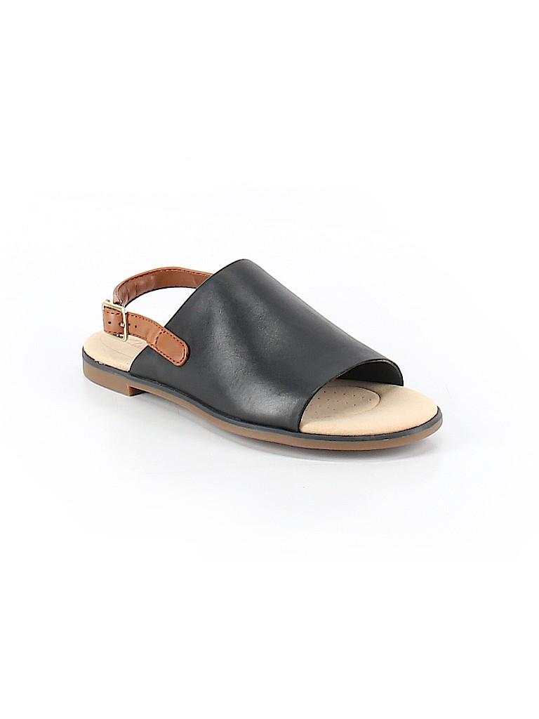 e2bac01ecc7 Clarks Solid Black Sandals Size 7 1 2 - 70% off