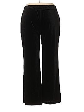 NY Collection Velour Pants Size 2X (Plus)