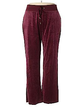 Calvin Klein Velour Pants Size 3X (Plus)