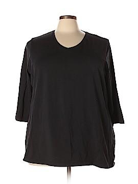 Avenue 3/4 Sleeve T-Shirt Size 26 - 28 Plus (Plus)