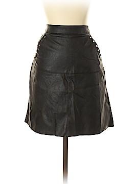 Zara Faux Leather Skirt Size S
