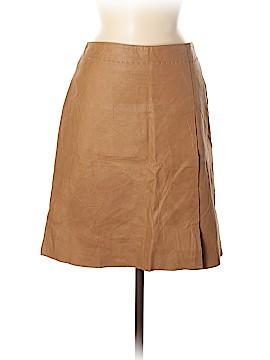 Max Studio Leather Skirt Size 8