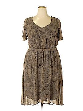 Lane Bryant Casual Dress Size 16 (Plus)