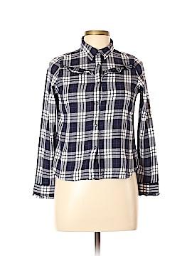 Blank NYC Long Sleeve Button-Down Shirt Size XL