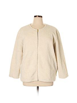 J. Crew Factory Store Faux Fur Jacket Size XL
